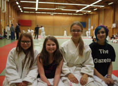 Lina-Marija, Iona, Valentina och Alice